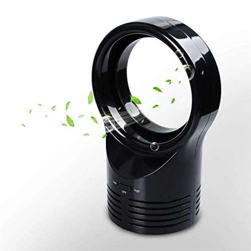 LIANGANAN USB Fan, Ventiladores USB, Ventilador sin aspas del Ventilador portátil, refrigeración Ventilador del Escritorio del Mini Ventilador, Zona Segura Tabla Ventilador artículo Ligero Compatible