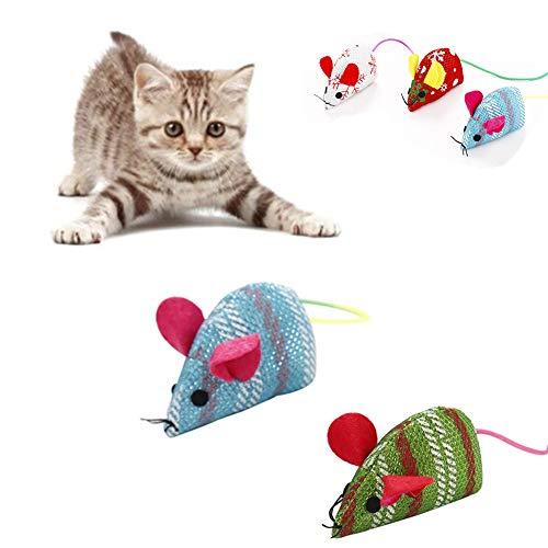yinyinpu Katzenspielzeug Set Katzenspielzeug Beschäftigung Katze Spielzeug Bälle...