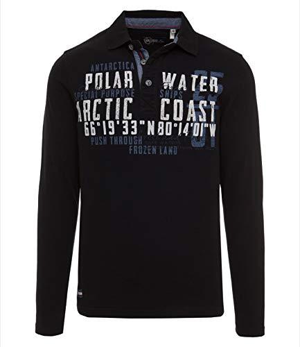 Camp David Herrn Polo Shirt Especially Men 2016 HW Dark Navy GR M