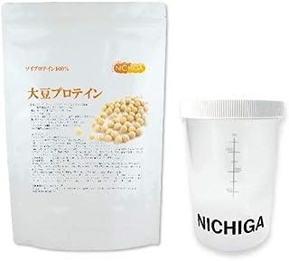 <シェイカー セット> 大豆プロテイン(国内製造)1kg ソイプロテイン100% Non-GMO 新規製法採用