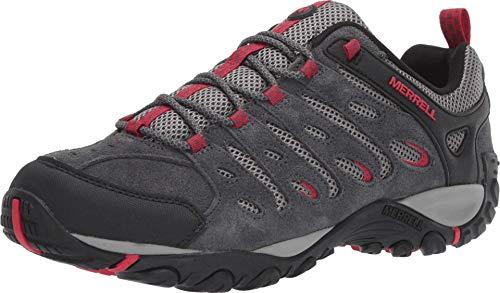 Merrell Crosslander 2 - Zapatillas de senderismo para hombre, Gris (Granito/Cereza), 40 EU