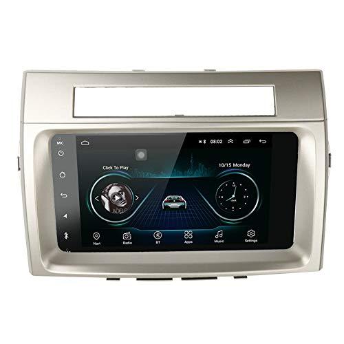 16GB Android 10 2Din Car Multimedia GPS For Toyota Corolla Verso 2006 Autoradio Navigation Stereo Head Unit Tape Recorder Radio (2GB RAM 32GB ROM)