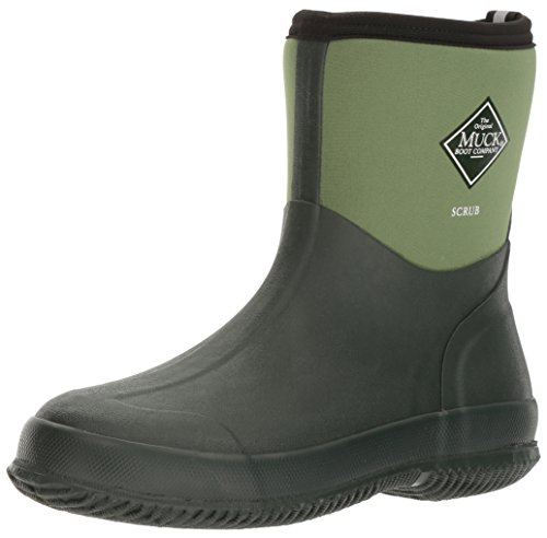The Original MuckBoots Adult Scrub Boot,Garden Green,11 M US Mens/12 M US Womens