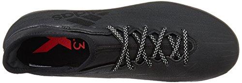 adidas X 16.3 Tf, Men's Soccer Shoe, Nero Core Black Core Black Dark Grey, 7.5 UK (41 1/3 EU)