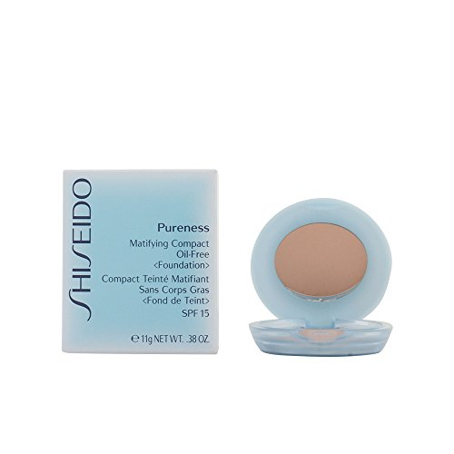 Shiseido Pureness femme/woman, Matifying Compact Oil-Free SPF 16 20, 1er Pack (1 x 11 ml)