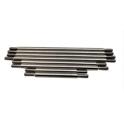 ETbotu 8 stuks/set frame van roestvrij staal trekstang 324 stap voor 1/10 Crawler Car TRX4