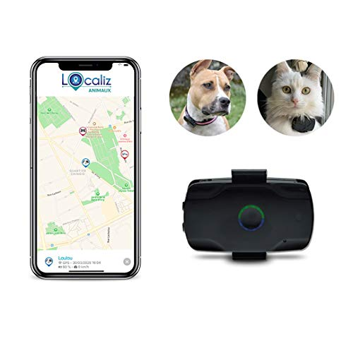 LOCALIZ Le Lookat de, Traceur GPS pour Chat et Petit Chien. Le Traceur GPS utilisé dans l'émission la Vie secrète des Chats