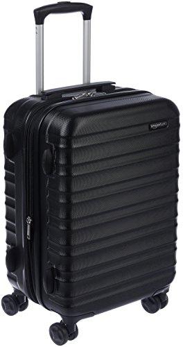 """AmazonBasics Hardside Luggage 20"""" Cabin Size, Black"""