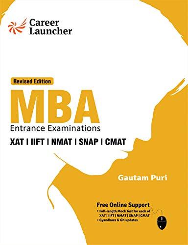 MBA 2019-20 : Study Guide (XAT|IIFT|NMAT|SNAP|CMAT)