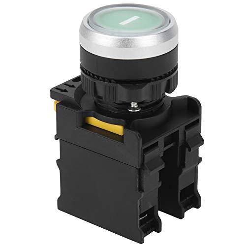 Mothinessto 10A Druckknopf Elektrische Ausrüstung Verbrauchsmaterial für Bohrmotor für Fahrzeugmodifikationsschalter Industrieausrüstung