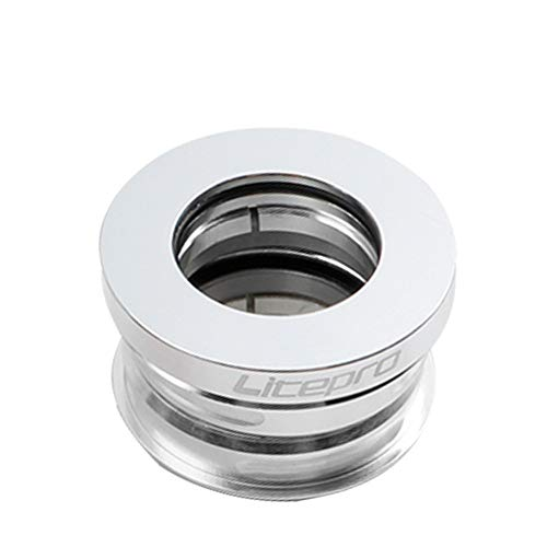 QYA 44mm Incorporado Teniendo Headset aleación de Aluminio CNC de Titanio-Plating Da-hon...