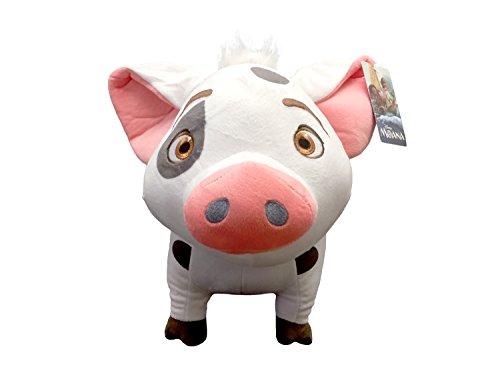 Jay Franco Disney Plush Stuffed Pillow Buddy - Kids Super Soft Polyester Microfiber, 16 inch (Official Product), Moana - Pua Pig