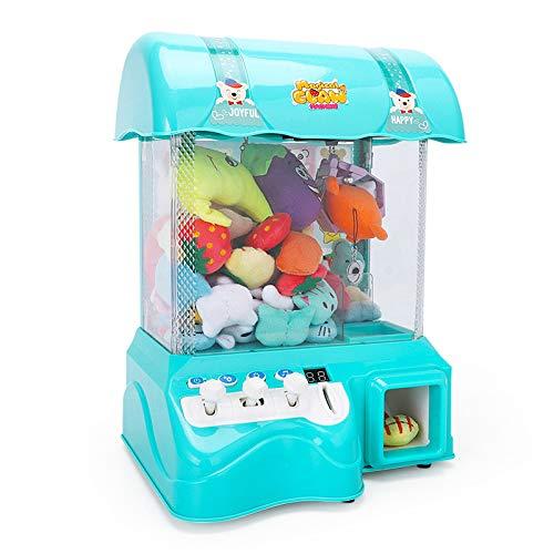 SYLTL Candy Grabber Münzbetrieben Süßigkeitenautomat mit Jahrmarkt Musik Mini Greifautomat Spielzeug Geburtstagsgeschenk