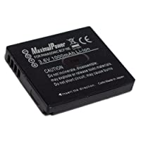 Maximal Power DB PAN DMW-BCF10 Secured Digital Camera Replacement Battery for Panasonic DMW-BCF10 (Black) [並行輸入品]