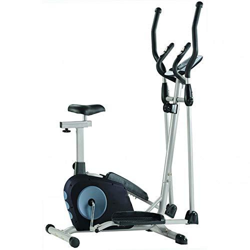 YZT QUEEN Máquina Elíptica,Máquina De Entrenamiento Cruzado,Bicicleta Magnética para El Hogar Bicicleta De Ejercicios para Adelgazar con Asiento,Equipamiento Deportivo De Interior para El Hogar