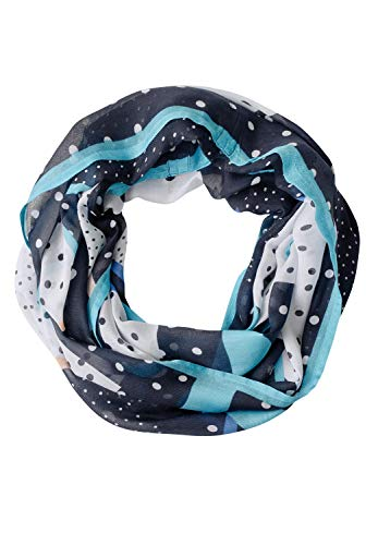 Cecil Dot Mix Print Loop, mintgrün(peppermintblu (31525)), Gr. *