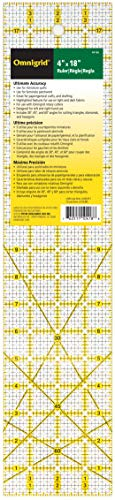 Price comparison product image Omnigrid Ruler,  4 x 18-Inch,  Clear