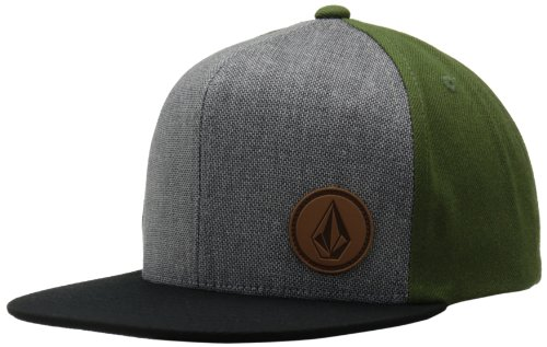 Volcom Cap Upper Corner Stone Hat Gorra, Hombre, Verde, DE: One Size