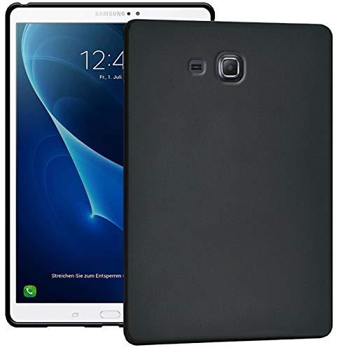 Verco Hülle für Samsung Galaxy Tab A 7.0 (2016), Schutzhülle Tablet Tasche Silikon Cover [Tab A6 T280 / T285], Schwarz