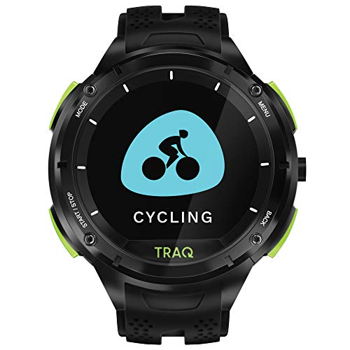Traq Cardio Digital Clear Dial Unisex-Adult Watch-75001PP01