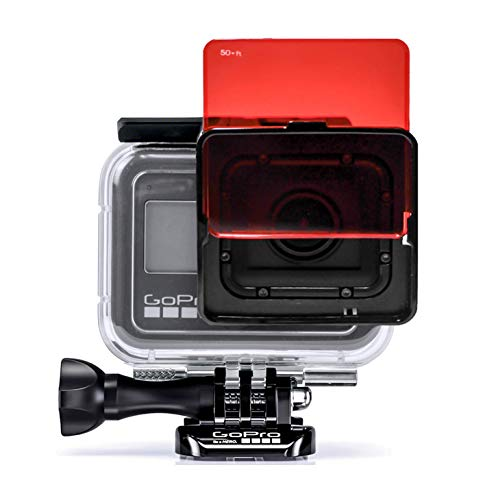 SANDMARC Aqua Filter for GoPro Hero 8 - Juego de 5 filtros para buceo y esnórquel