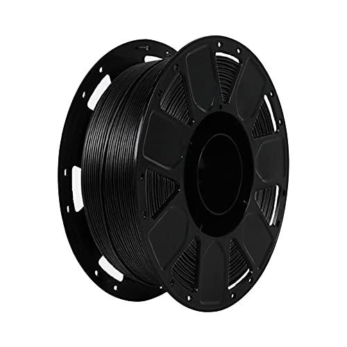 LI Q P R Precisión PLA 3D Filamento de impresora 1.75mm Dureza Consumibles Material con carrete (negro)