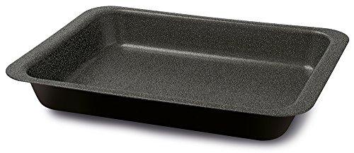 Guardini Blackstone, Lasagnera 22x28cm, Acciaio con rivestimento antiaderente, Colore 'black-stone'