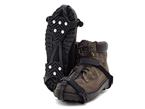 Slidefix Schuhspikes Anti Rutschgefahr. Hilft bei Schnee & Eis. Ideale Lösung im Winter und sorgt für sicheres Laufen, Wandern oder sorgenfreie Spaziergänge im Schnee und auf Eis. Universal Gr. 36-45.