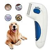 QINX Limpiador eléctrico de piojos para mascotas, para el cuidado de los piojos, para gatos y perros