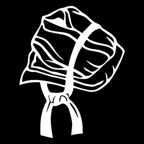 PAOPD Adesivi per Auto per Adulti Ragazzi Bambini 14,5 cm * 18,1 cm Karate Scrapbooking per Computer Portatile Bicicletta Frigorifero Fotocamera Libri Decalcomanie (3 Pezzi)