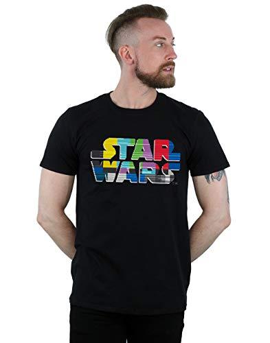 Men's Star Wars Logo Test Card Tee, S to 5XL