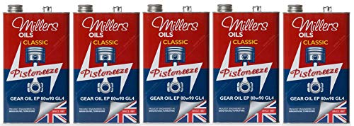 Millers Oil Pistoneeze Classic Gear Oil EP 80w-90 GL4, 25 litres