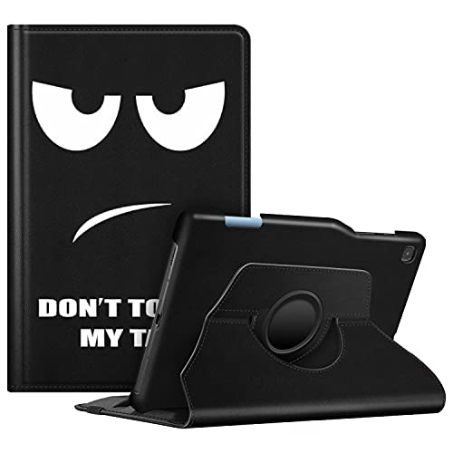 FINTIE Funda Giratoria para Samsung Galaxy Tab S6 Lite de 10.4' con Portalápiz para S Pen - Rotación de 360 Grados Carcasa con Auto-Reposo/Activación para Modelo SM-P610/P615, No Tocar