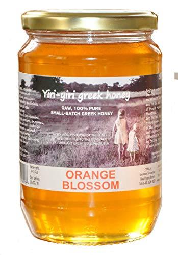 RAUWE GRIEKSE HONING 100% PURE - ORANJE BLOESEM 960 g - van de afgelegen weiden en sinaasappelboomgaarden van Ilia en Argos