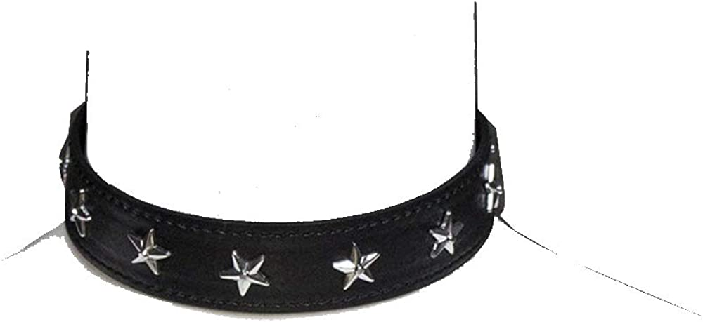 AOTENG STAR Black Punk Choker Charm Stretch Gothic Tattoo Chokers Necklace Set for Women Girls
