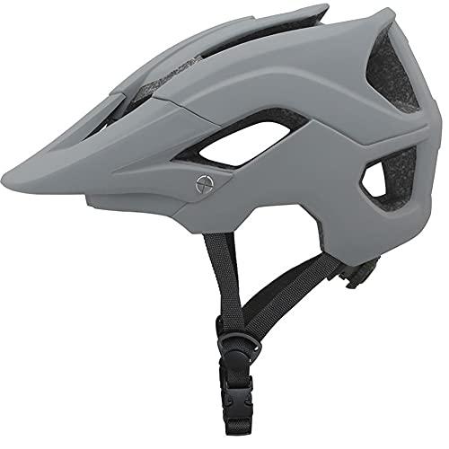 Letetexi Casco Bicicleta con Visera, Protección de Seguridad Ajustable Casco Ligero para Ciclismo de Montaña para Adultos Hombres Mujeres, Casco Ajustable 58-62cm
