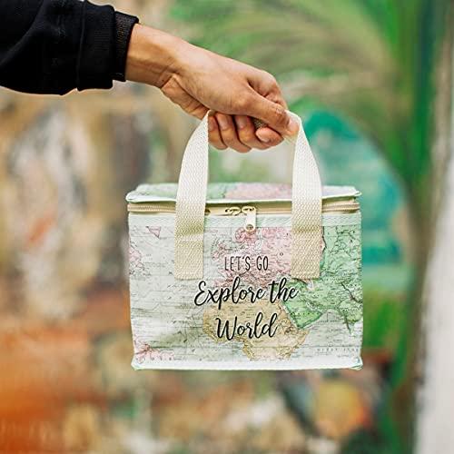 Lunch bag World explorer