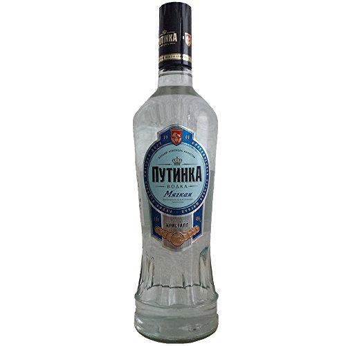 Vodka Putinka Mild 1L echter russischer Wodka