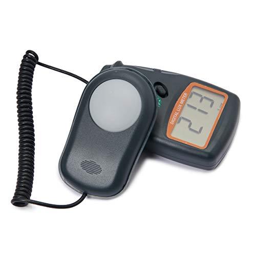Beslands Digitale Luxmeter Lichtmessung Beleuchtungsmessgerät LX1010B 0-50000 Lux mit hoher Genauigkeit, schneller Reaktion und Daten halten