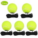 Fostoy Tennisbälle mit Schnur, 5PCS Langlebiger...