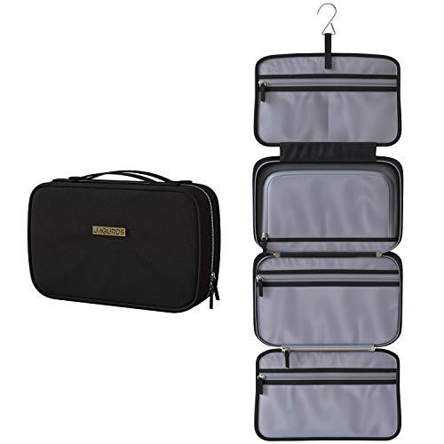 JAGURDS Hanging Travel Toiletry Bag - Travel Toiletries Bath Bag, Bathroom Bag for Traveling - Shower Bags for Women
