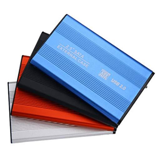 Ashley GAO USB 2.0 2.5 Pulgadas Notebook IDE Carcasa de Controlador Duro Carcasa Externa Aleación de Aluminio y magnesio Carcasa de Controlador Duro de Alta Velocidad