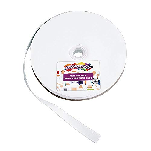 Colorations HOOK25 Hook Self-Adhesive Fastener - 25 Yards