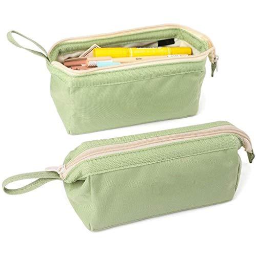 Estudiante Simple Caja de lápices Capacidad Grande Caja de lápices Caja de lápiz Caja de papelería Estuche de lápiz Cosméticos Cosmetic Bag Girls Boys Ladies (Color : F)
