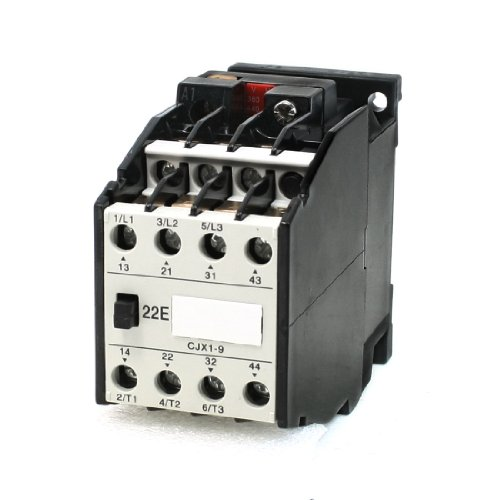 Aexit 380V/440V Rated Distribution electrical Coil Voltage 3 Phase 2NO+2NC CJX1-9/22 Model AC Contactor