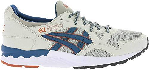 ASICS Gel-Lyte V Uomo Running Trainers H6A2Y Sneakers Scarpe (UK 3.5 US 4.5 EU 36, Light Grey Legion Blue 1345)