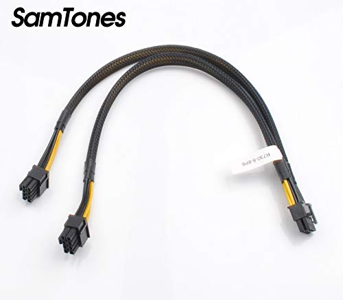 SamTones Stromadapterkabel für Dell PowerEdge-R730 und NVIDIA Quadro GPU, 8 Pin auf 8 Pin und 8 Pin