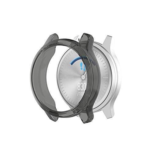Tencloud Coques compatibles avec Garmin Vivomove Luxe/Style Coque de protection en TPU souple Bumper Shell pour montre connectée Vivomove Luxe/Style (5 couleurs)