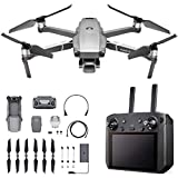 DJI Mavic 2 Pro - Drone Quadcopter UAV with Smart Controller with Hasselblad Camera 3-Axis Gimbal HDR 4K Video Adjustable Aperture 20MP 1' CMOS Sensor, up to 48mph, Gray