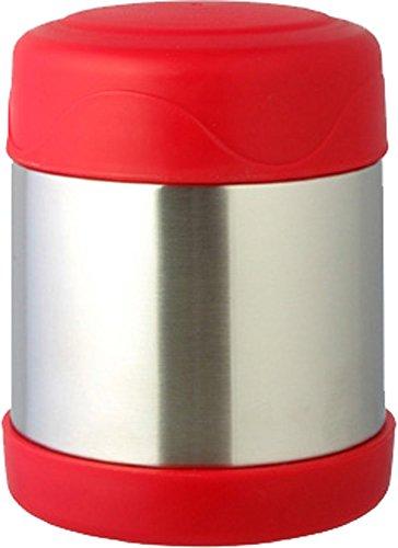リビング 弁当箱 フード マグ スープ リゾット 果物 330ml レッド 真空断熱 保温 保冷 H&C